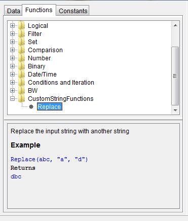 Tibco Java Custom Function