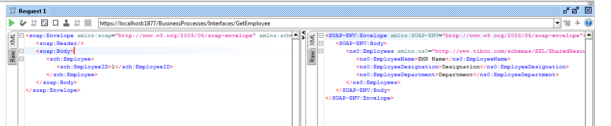 Creating SOAP Service with SSL Configuration in TIBCO