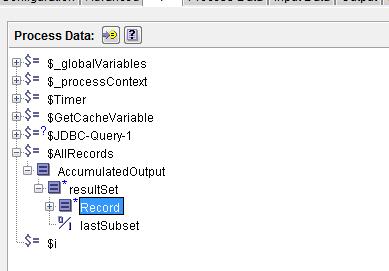 JDBC query tibco
